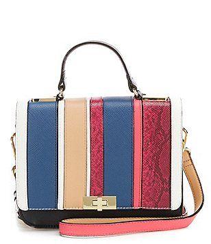 Gianni Bini Patchwork Cross-Body Bag