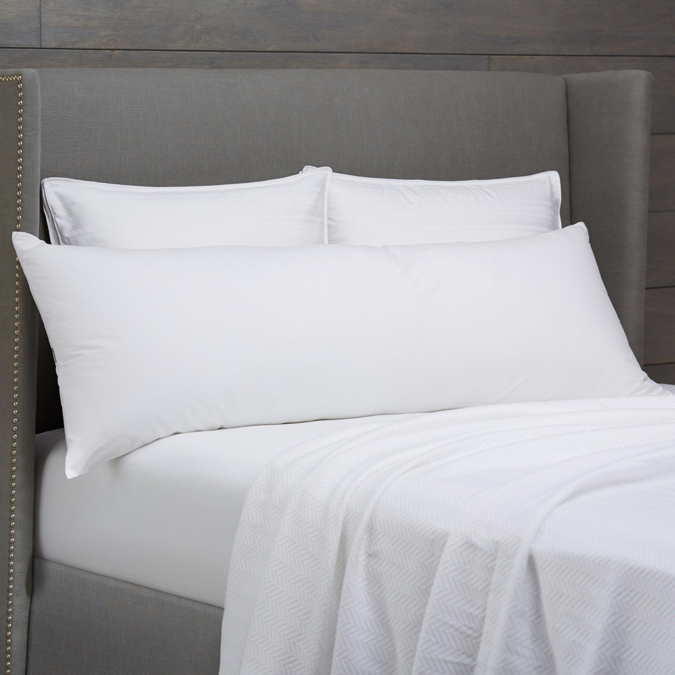 Pinzon Basics Body Pillow With Cover Bed Pillows Body Pillow