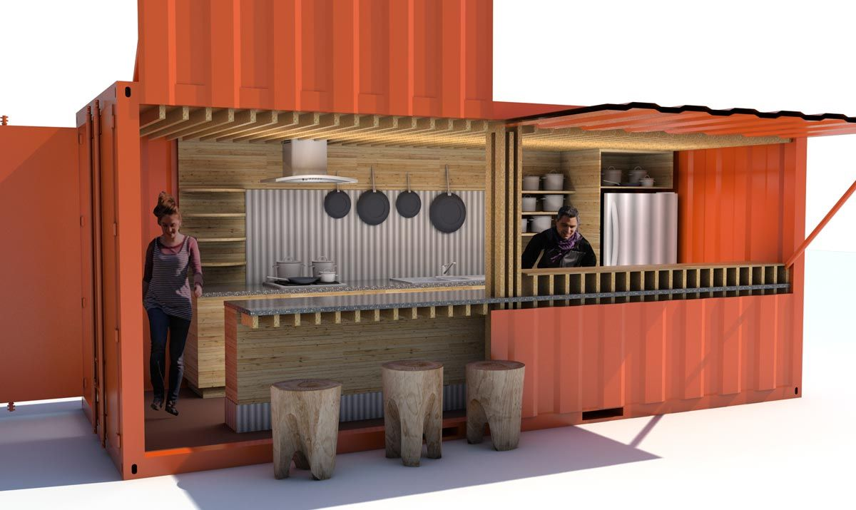 Best Kitchen Gallery: Image Result For Shipping Container Kitchen Big Shed Ideas of Shipping Container Kitchen on rachelxblog.com
