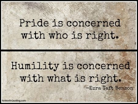 """Image result for THE PRICE OF PRIDE AND HUMILITY"""""""