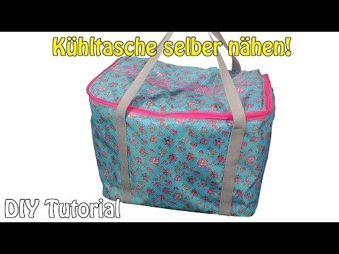 kuehltasche selber n hen diy tutorial f r anf nger n hen f r anf nger ohne sm urob si. Black Bedroom Furniture Sets. Home Design Ideas