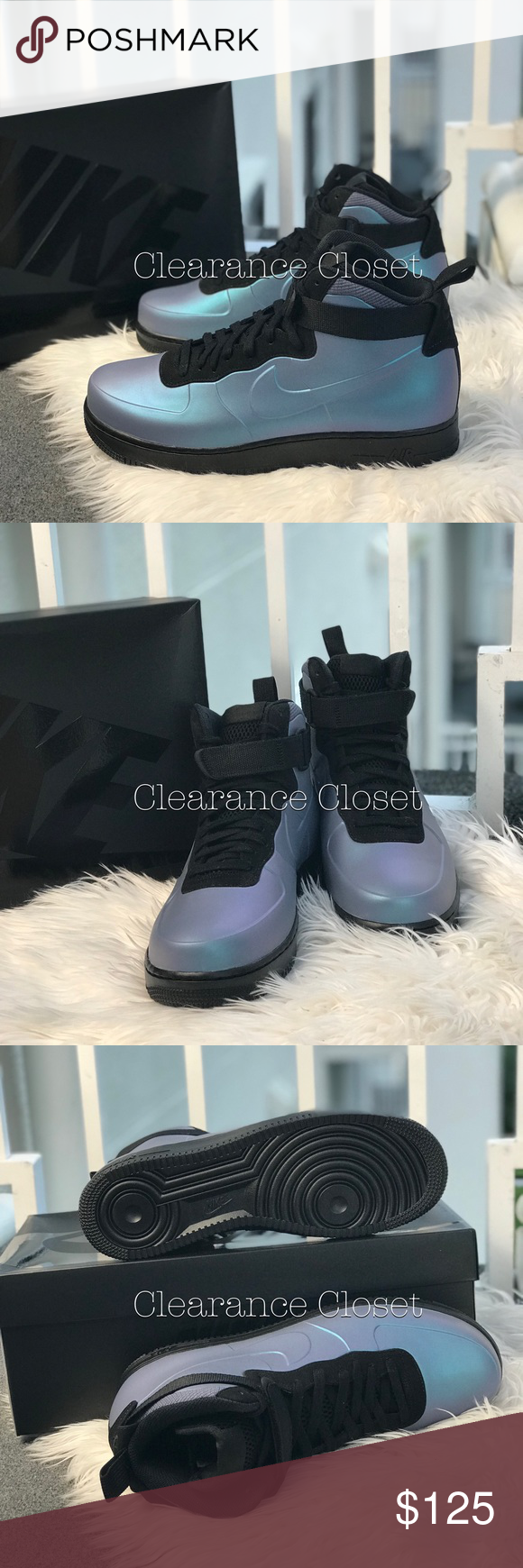 473e902846b02 NWT Nike Air Force 1 Foamposite CUP M AUTHENTIC Brand new with original  box. Price is firm. No trades. • Visible Nike Air unit provides lightweight  ...