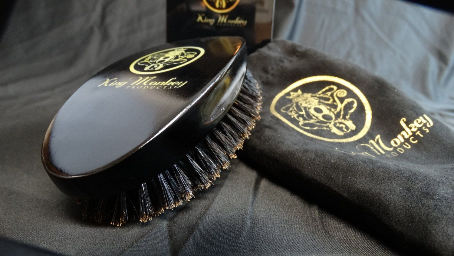 KING MONKEY PRODUCTS - 1776 Natural Boar Bristle Palm Hair