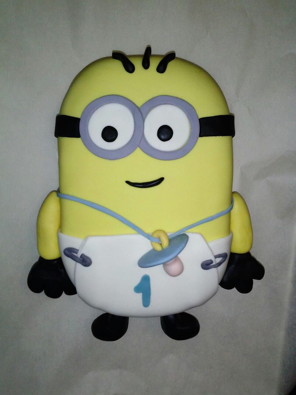 Baby Minion   In Honor Of My Nephewu0027s First Birthday 12.25.2012