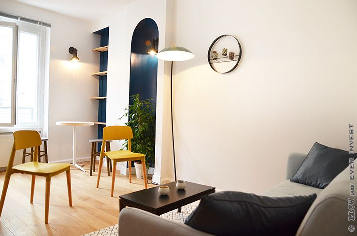 Interior Design- Contemporary flat in Paris - Home Staging ...
