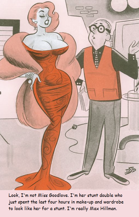 That must be some stunt | Tranny toons | Dan decarlo, Art of ...