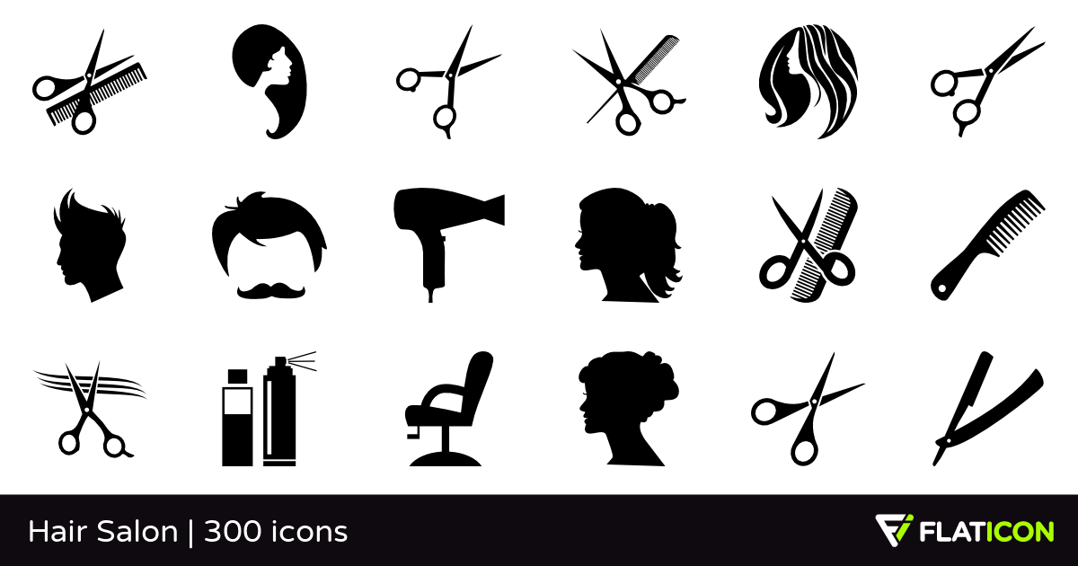 300 Free Vector Icons Of Hair Salon Designed By Freepik Hair Salon Design Hair Salon Salons