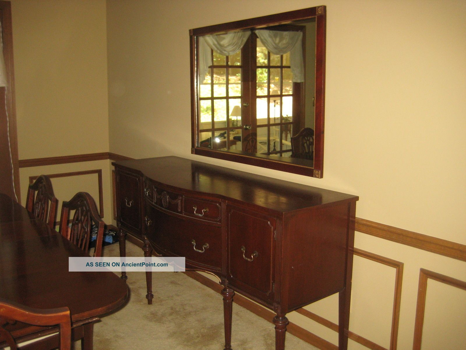 1930 S 1930 S Duncan Phyfe 11 Piece Mahogany Dining Room Set 1900 1950 Dining Room