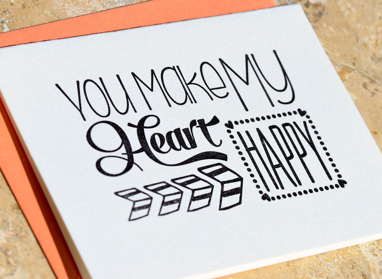Letterpress Card Greeting Card Letterpress Letterpress Printing