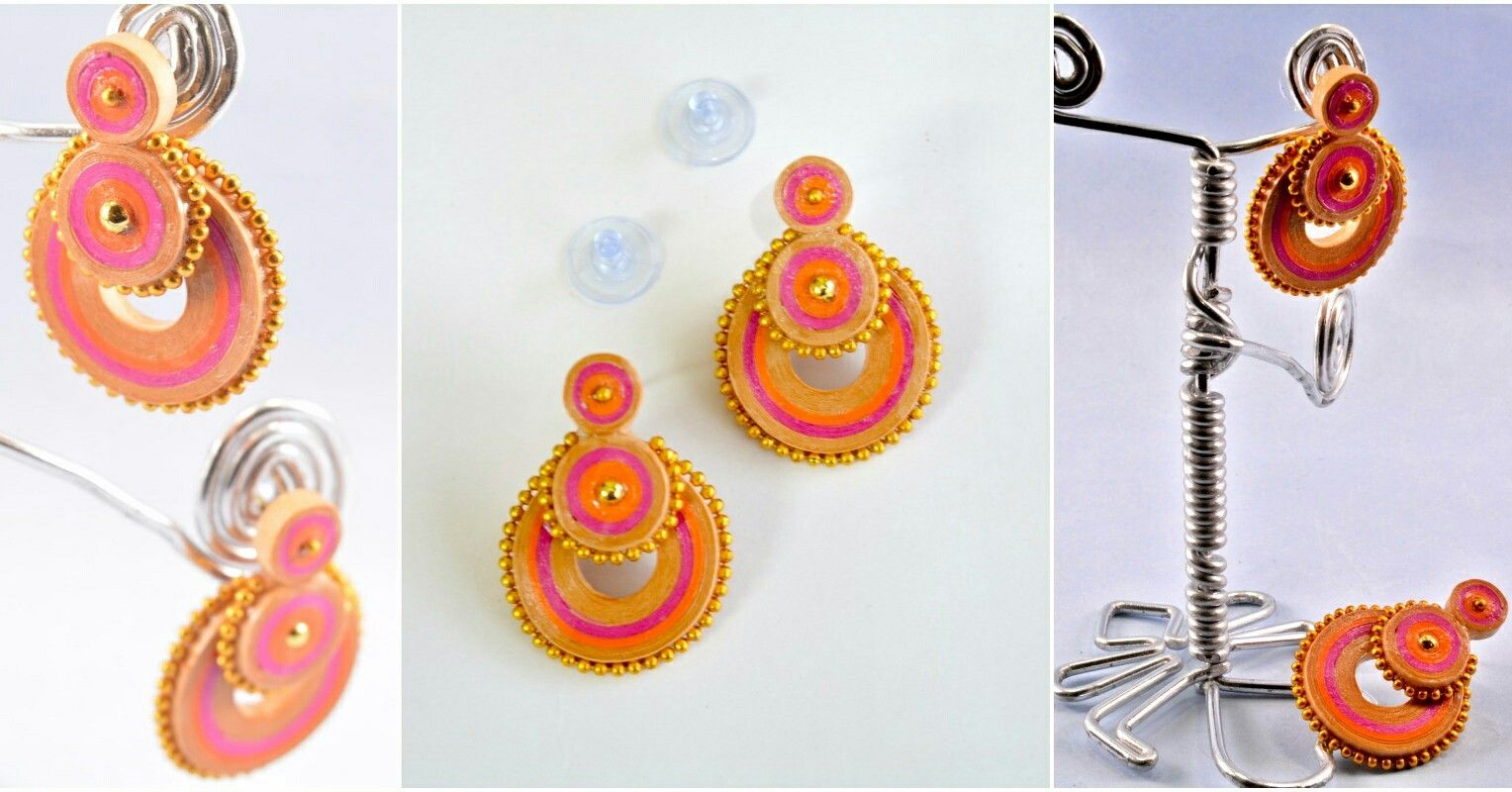 On this #festival season, lets make it more colorful by wearing #lightweight #colorful #jewelry and totally #ecofriendly #Traditional #Studs #specially for #ladies. How are these studs friends? Please give your valuable comments