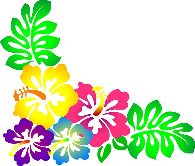 flower-307569_640.png (640×545) | luau | Pinterest | Flores de papel ...