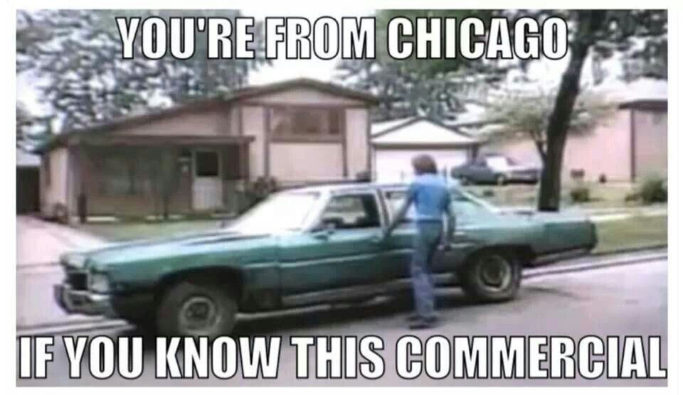 Near O'Hare! I remember this commercial. Victory Auto