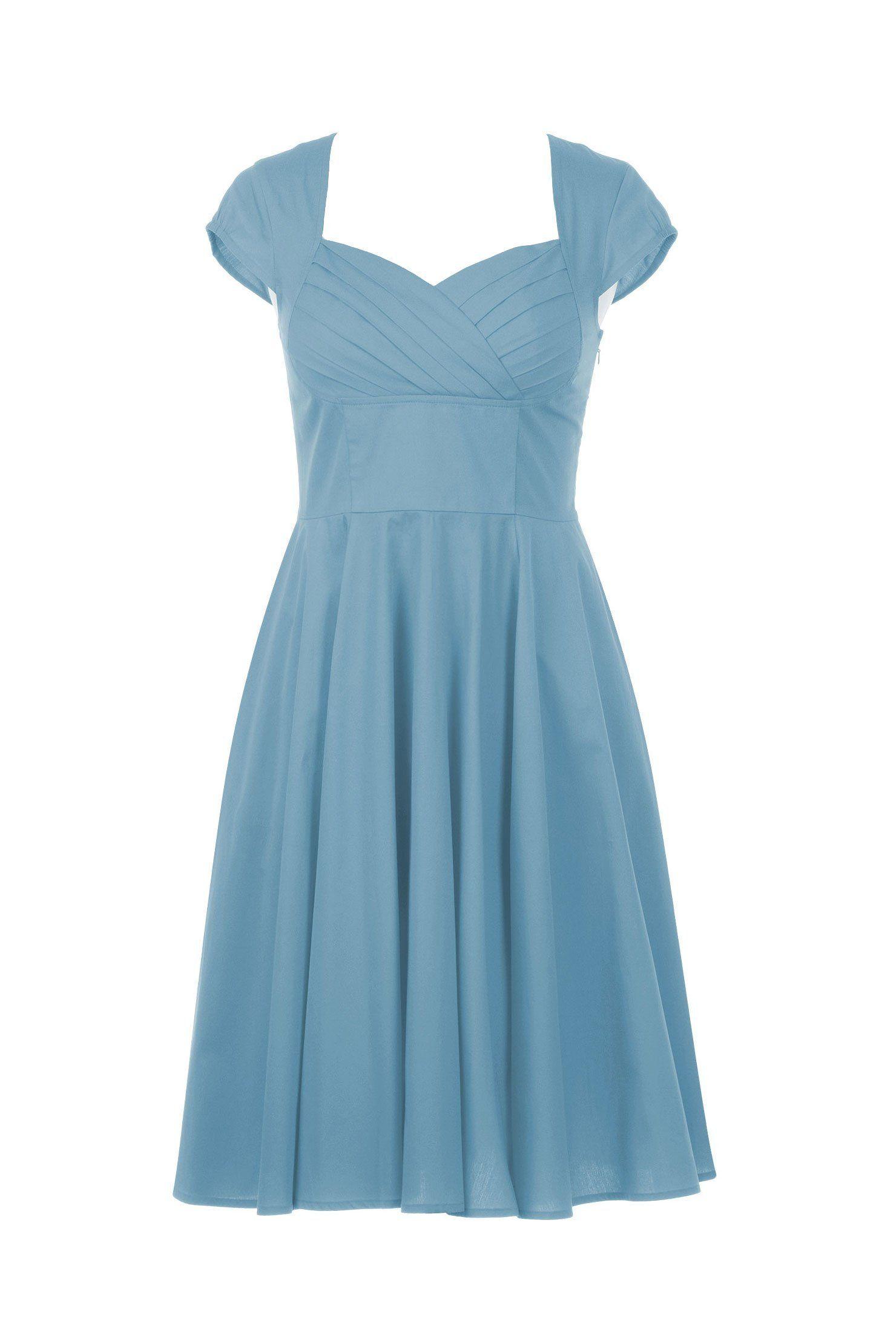 eShakti Women\'s Havana dress M-8 Regular Pale blue   My Style ...