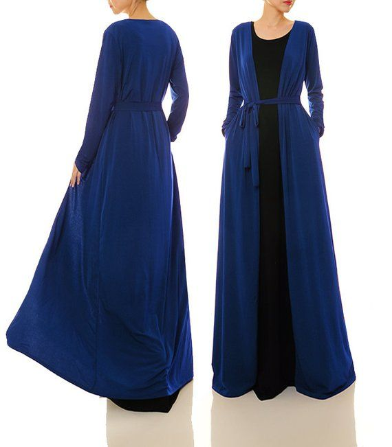 Carigans with Royal Blue Maxi Dresses