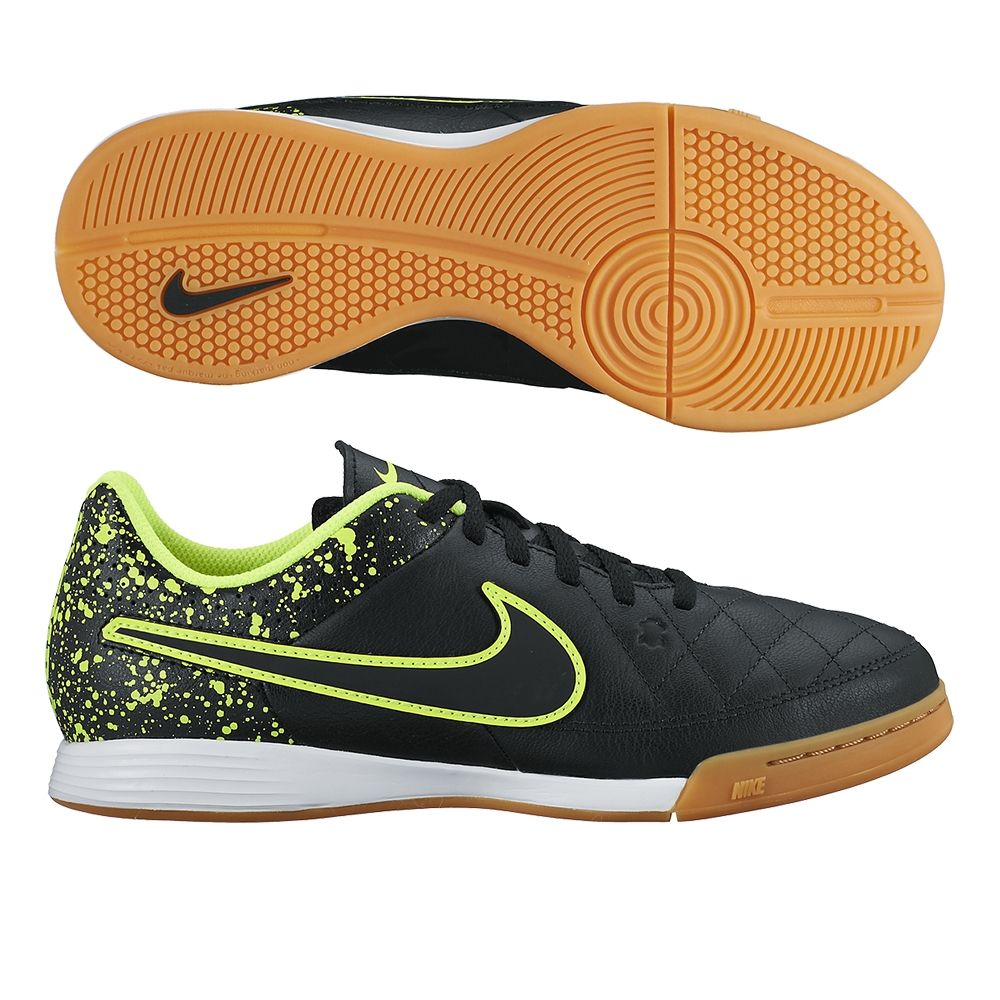 brand new ec3b9 898a1 With the youth Nike Tiempo Genio indoor shoes, kids can get the touch and  comfort