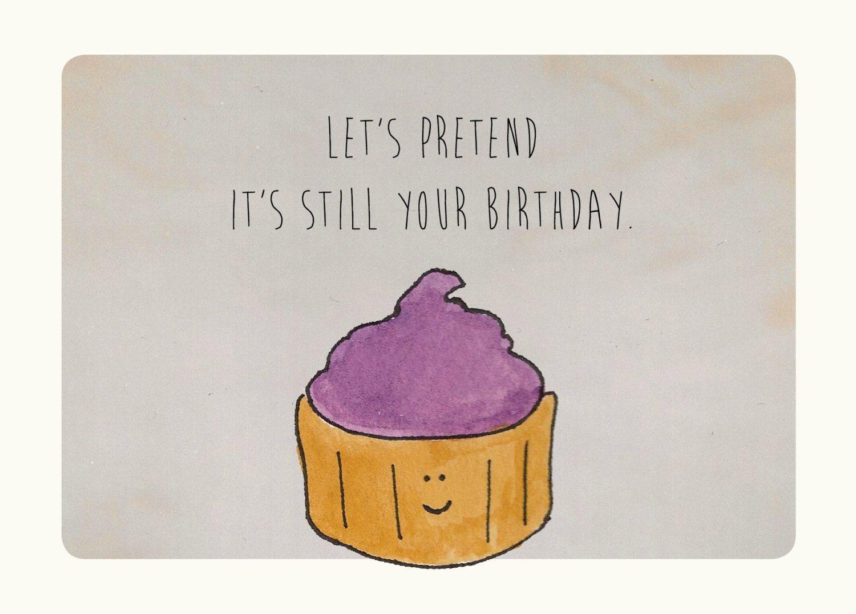 Feliz Aniversario Atrasado: Cumpleaños
