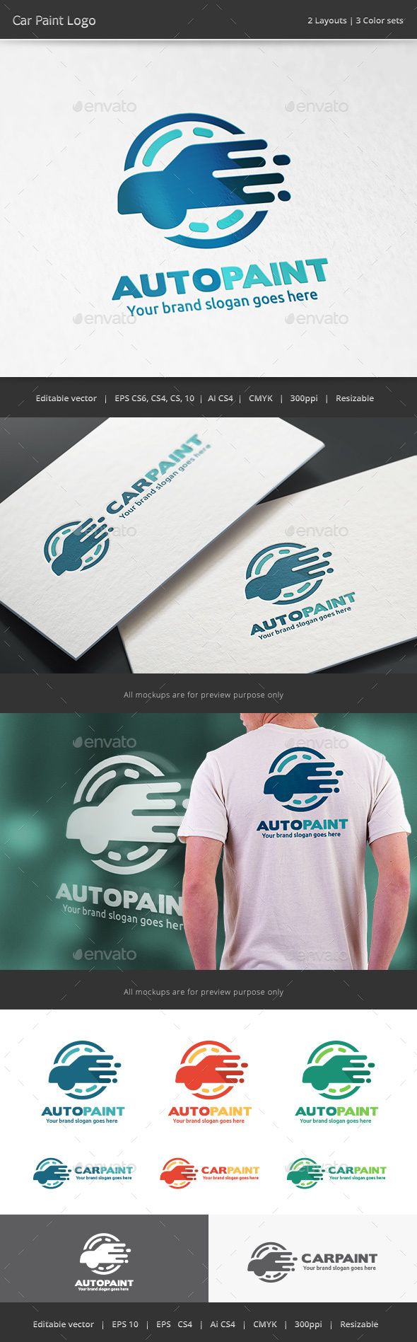 Car body sticker design eps - Car Paint Logo Vector Eps Wax Wash Available Here Https