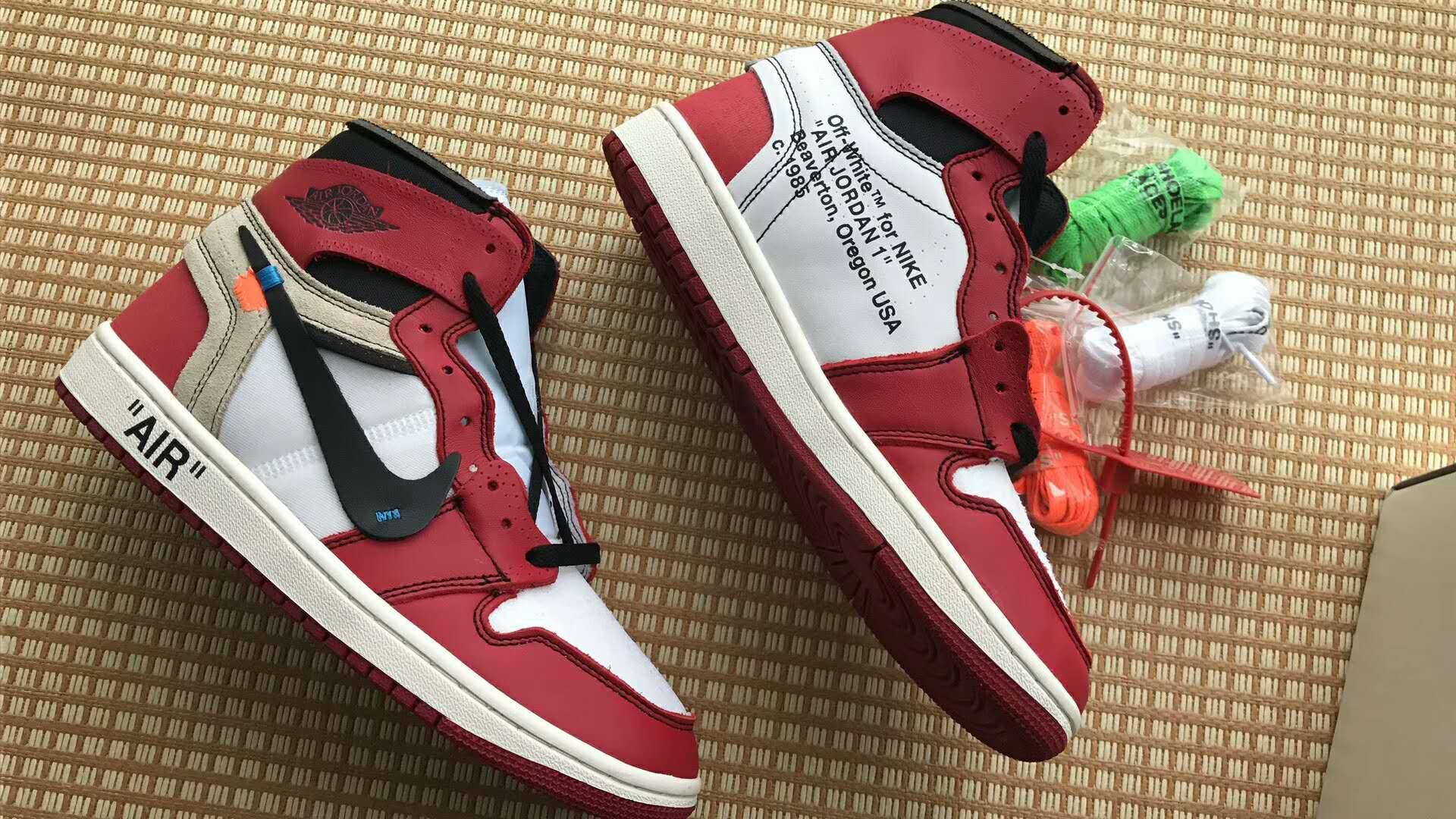 Virgil Abloh S Off White Nike Air Jordan 1 With Images Air