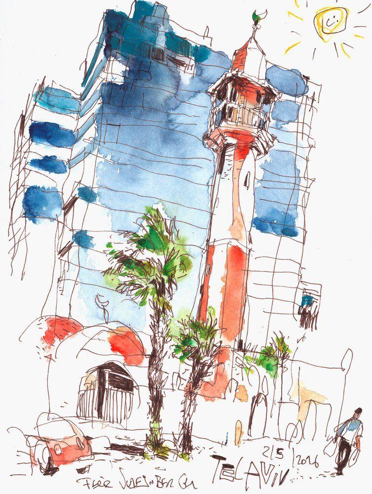 Drawings Drawings Watercolor Sketch Urban Sketching