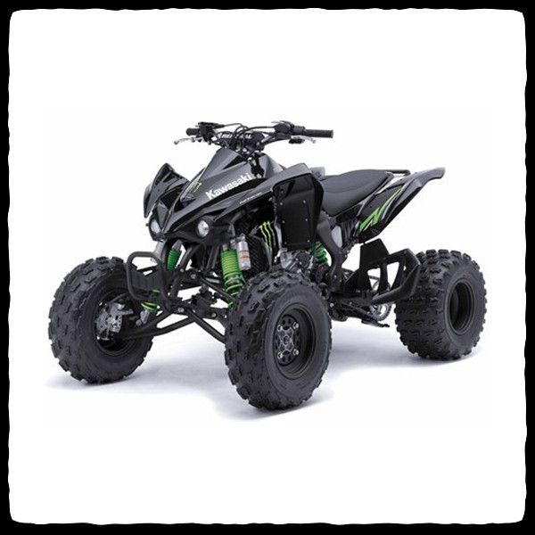 Kawasaki 450 quad
