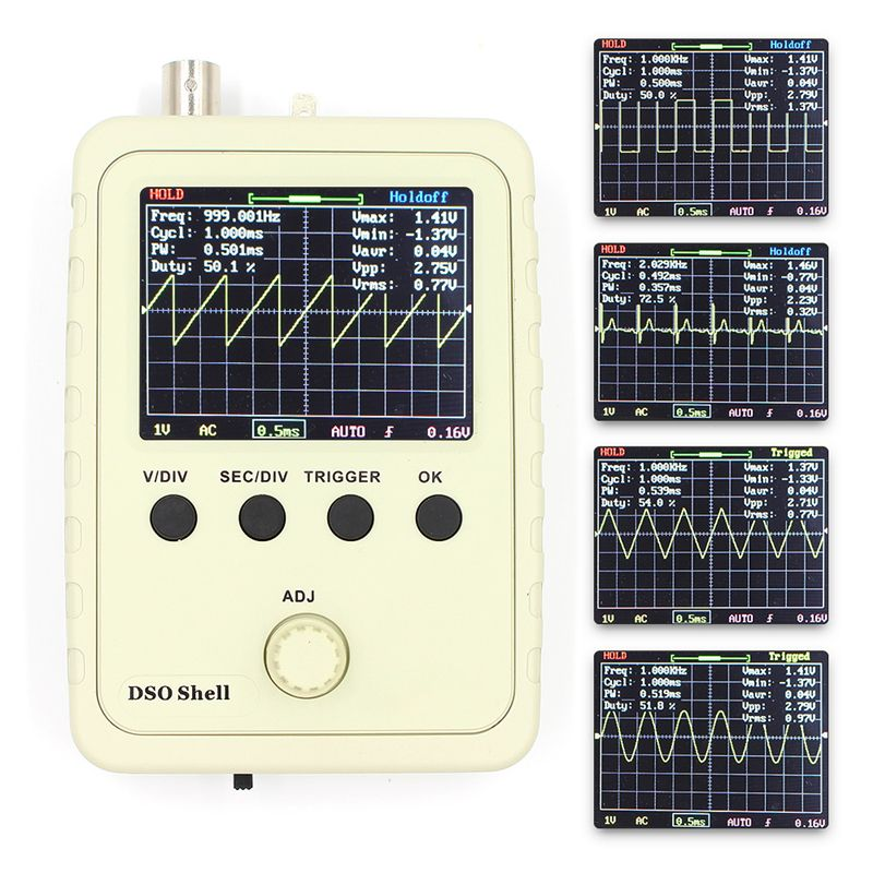 Digital Oscilloscope With Case L DSO150 Orignal Tech DS0150 15001K DSO-SHELL