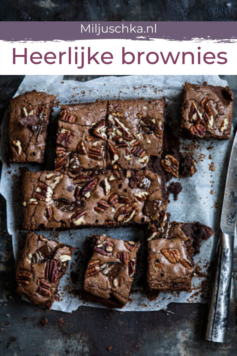 Photo of Miljuschka's heerlijke brownies