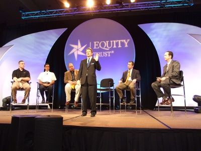 Clients share their winning self-directed IRA successes at the 2012 Equity University Networking Conference