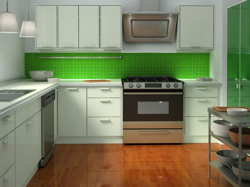 Pin by ana huston on interior design pinterest white ikea modern kitchen in green color inspirations captivating green kitchen design with bright green tiles backsplash and white kitchen cabinets also white dailygadgetfo Images