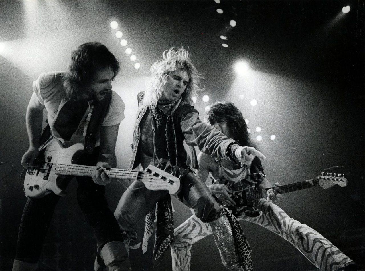 Pin Von Brandon Auf Ou812 2 Van Halen David Lee Roth Eddie Van Halen