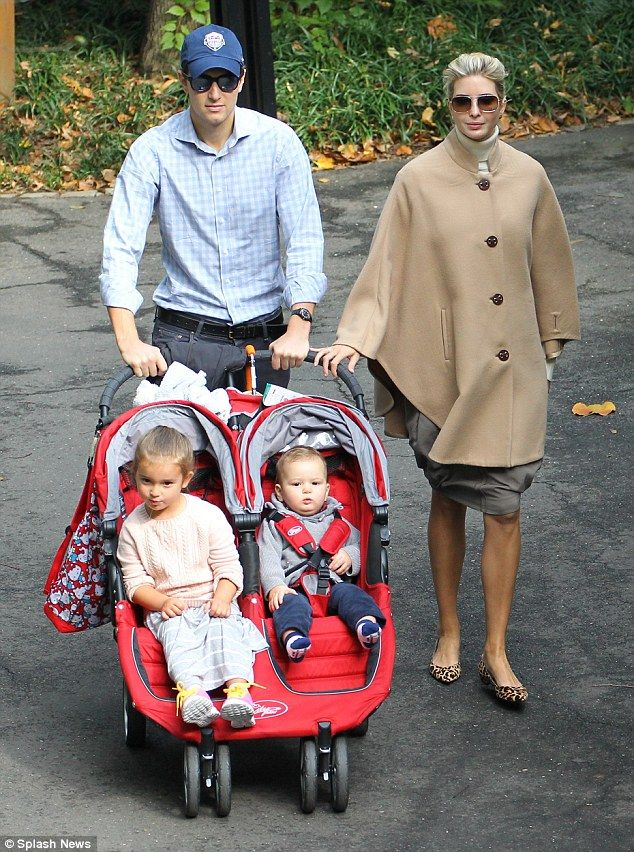 Ivanka Trump takes her family for a stroll in Central Park - Celebrity  Fashion Trends