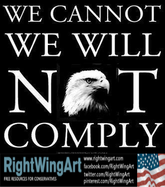 We will not comply!
