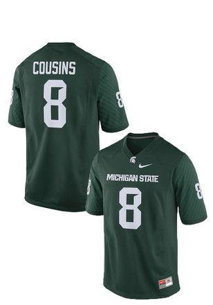 michigan state kirk cousins jersey
