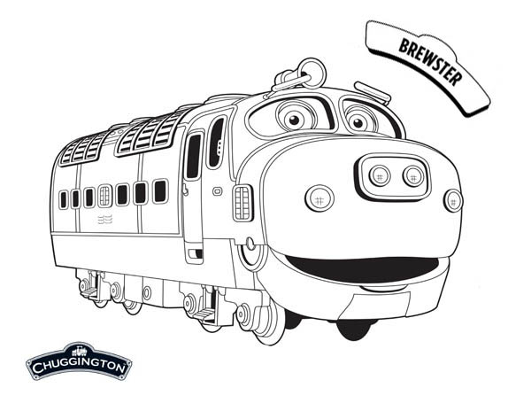 Awesome Brewster From Chuggington Coloring Page Download Print Online Coloring Pages For Free Color Online Coloring Pages Coloring Pages Online Coloring