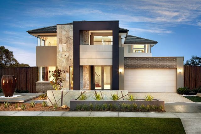 Keren ! Desain T&ak Depan Rumah Minimalis 2 Lantai Modern Ini - Desain rumah yang t&ak & Keren ! Desain Tampak Depan Rumah Minimalis 2 Lantai Modern Ini ...
