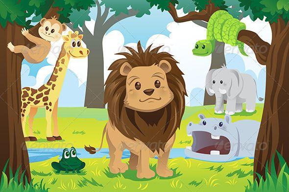 Animal Kingdom Animal Kingdom Jungle Animals Animals