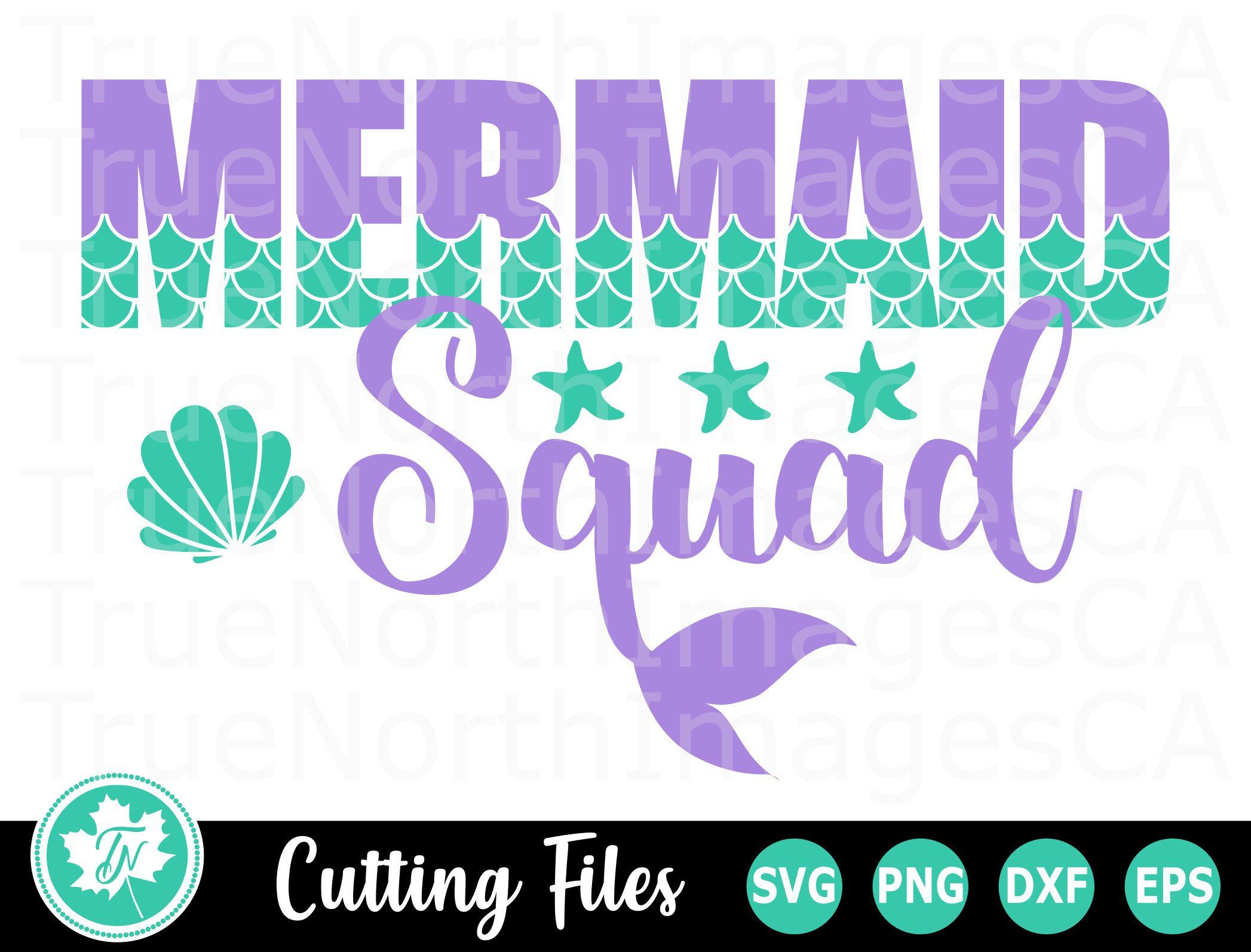 Mermaid SVG / Summer SVG / Mermaid Tail SVG / Beach Svg