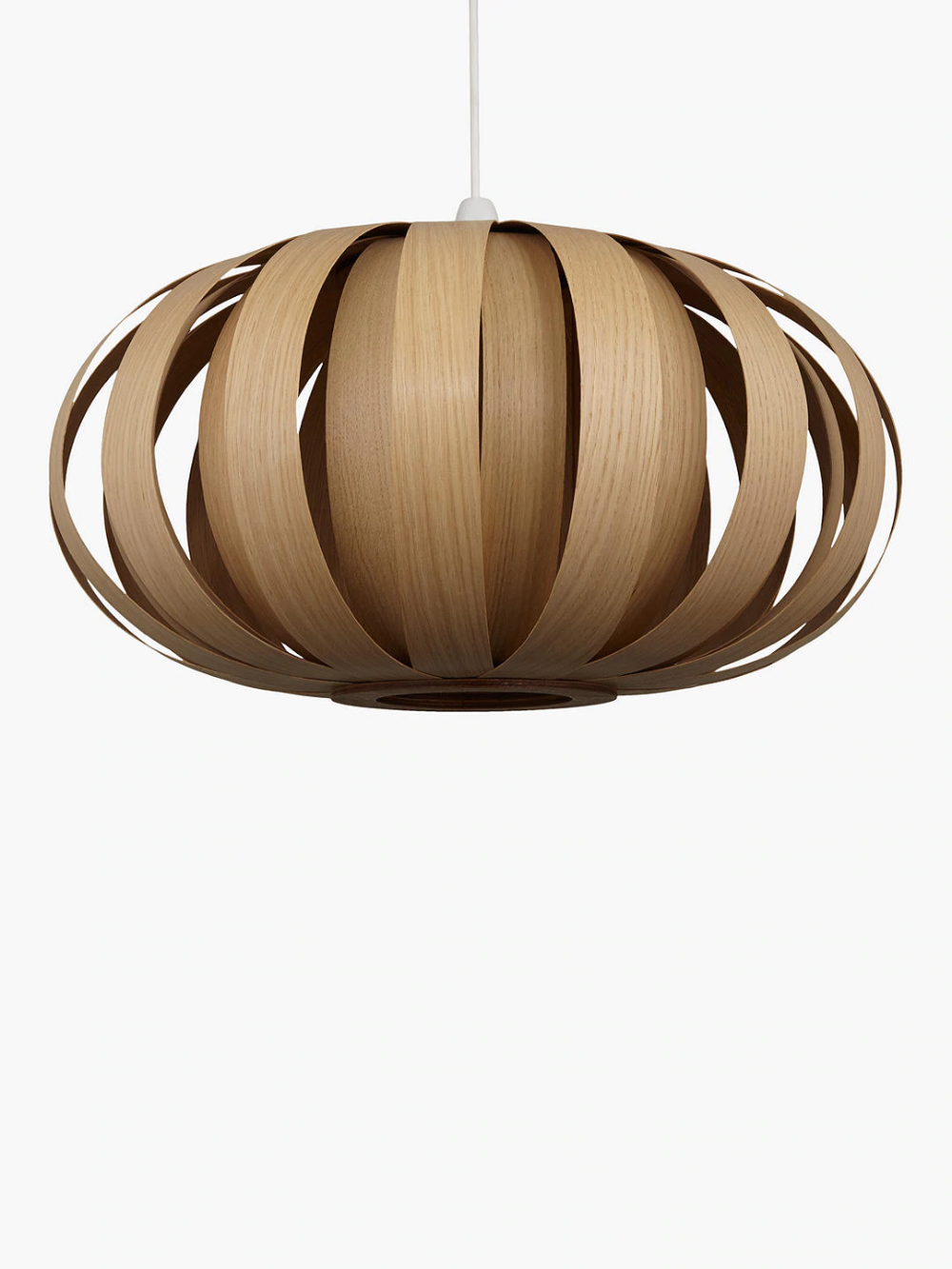 Tom Raffield Urchin Pendant Ceiling Light 53cm Oak Wooden Pendant Lighting Ceiling Pendant Lights Ceiling Lights