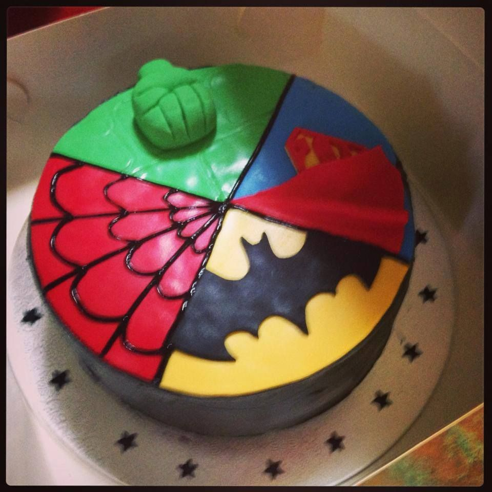 Sharing Sunday The Best Home Decorated Cakes Batman Superman