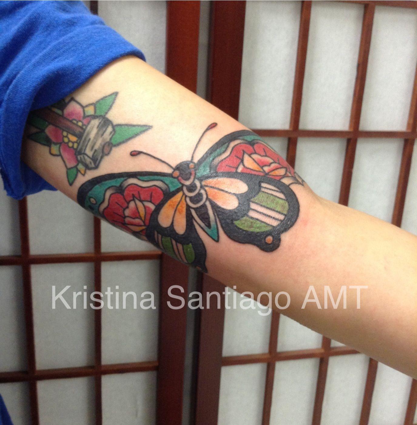 Butterfly american monarch tattoo monterey ca tattoos pinterest