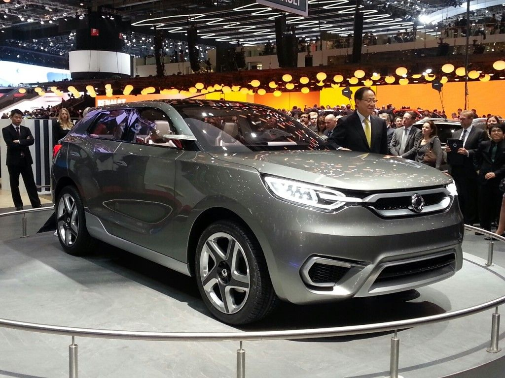 Ssangyong Confirms Working On New Small CUV For 2015