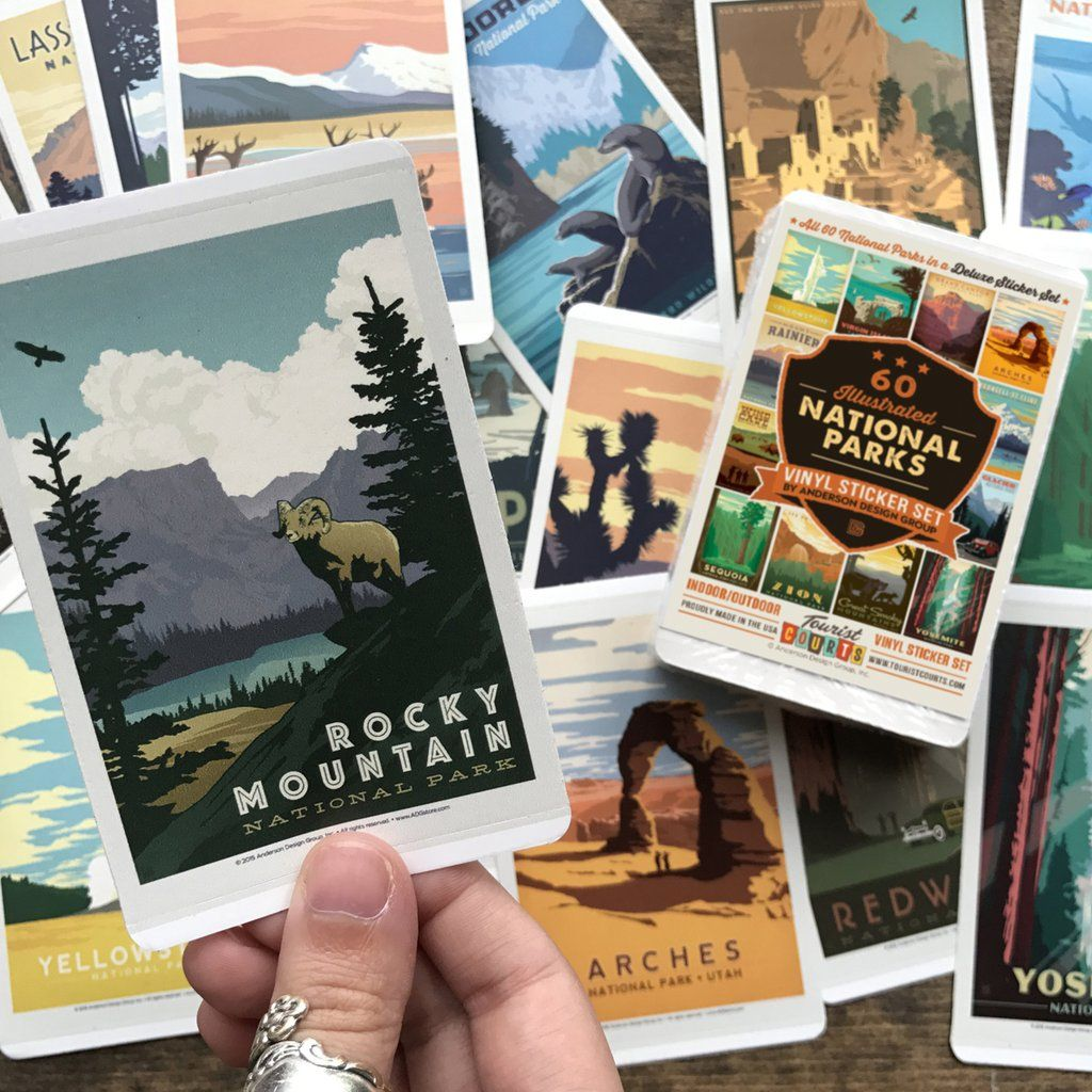 Park Art|My WordPress Blog_33+ National Parks Poster With Stickers  PNG
