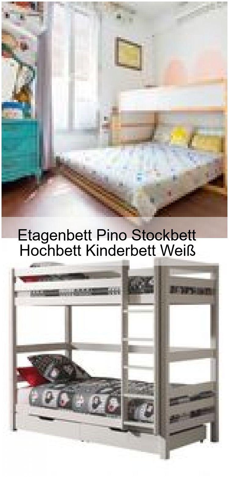 Etagenbett Pino Stockbett Hochbett Kinderbett Weiss Etagenbett