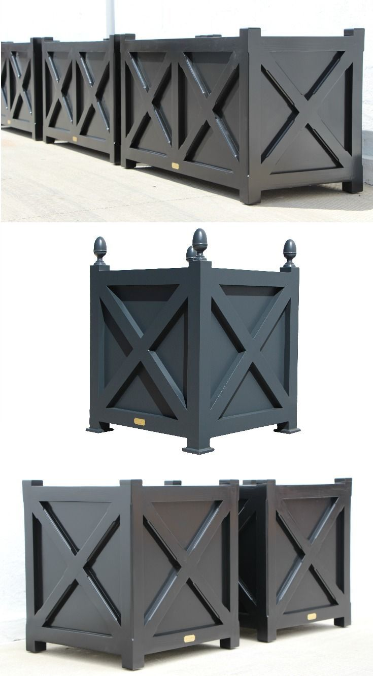 Cross Planters With And Without Finials By Accents Of France