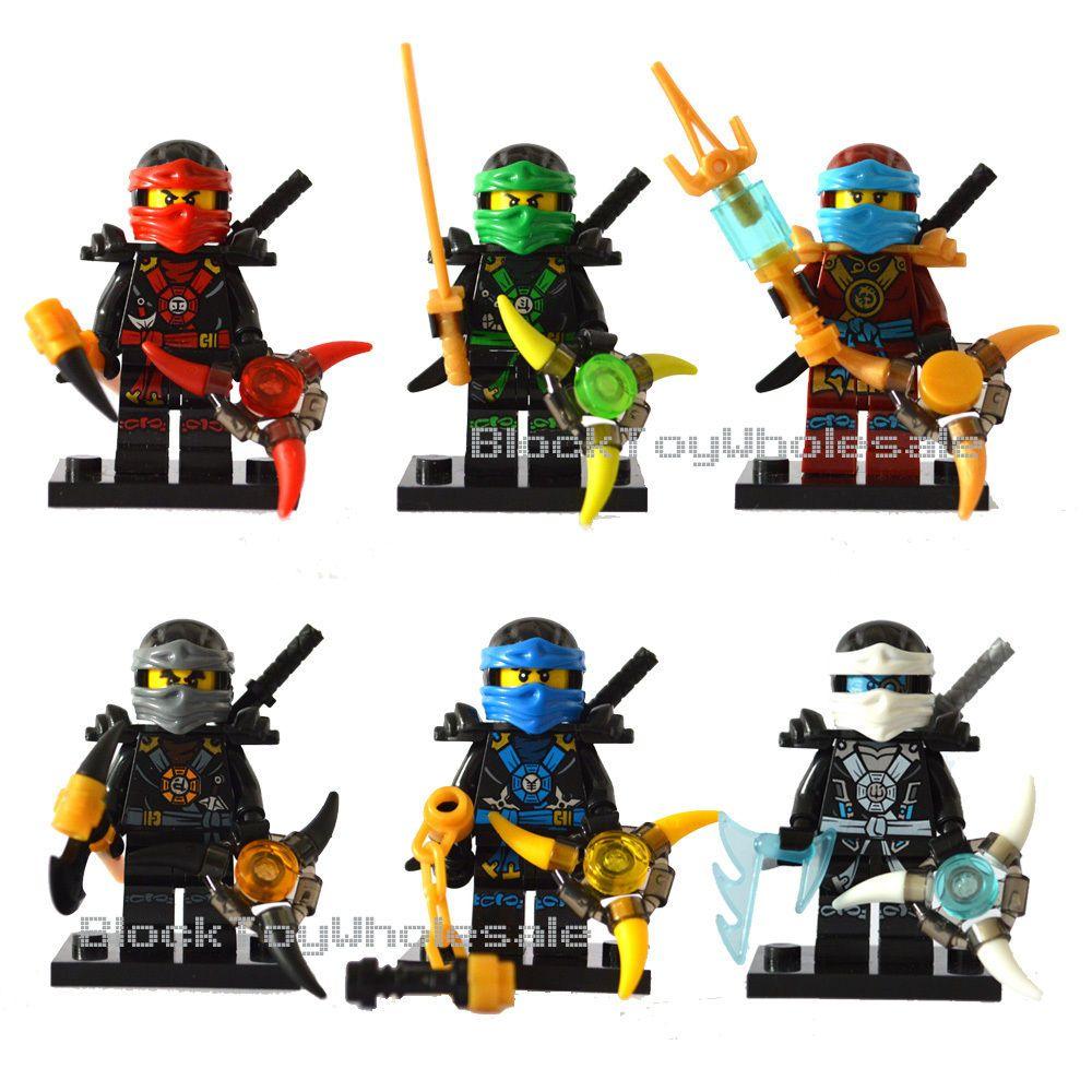 Us new in toys hobbies building toys lego bett for Kinderzimmer ninjago