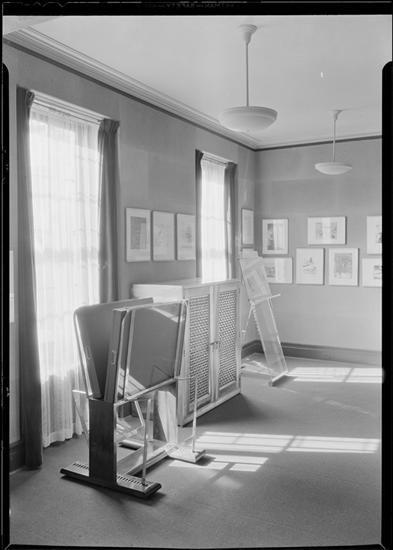 Whitney Museum of Modern Art. Cork room 1. Date: January 31, 1932  10 West 8th Street.