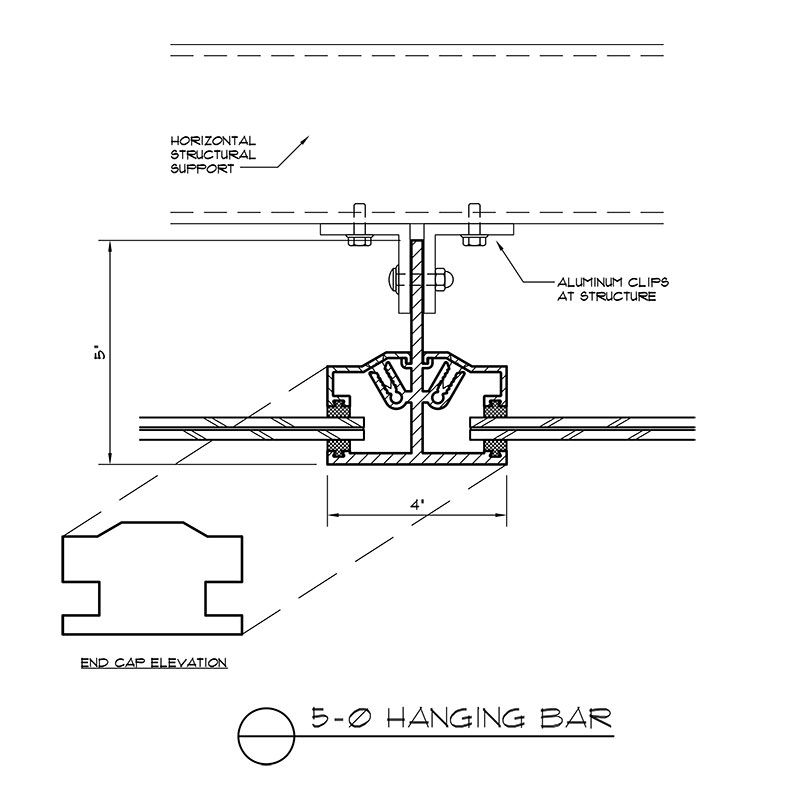 Hanging Canopy System | DeaMor | Canopy | Patio canopy ...