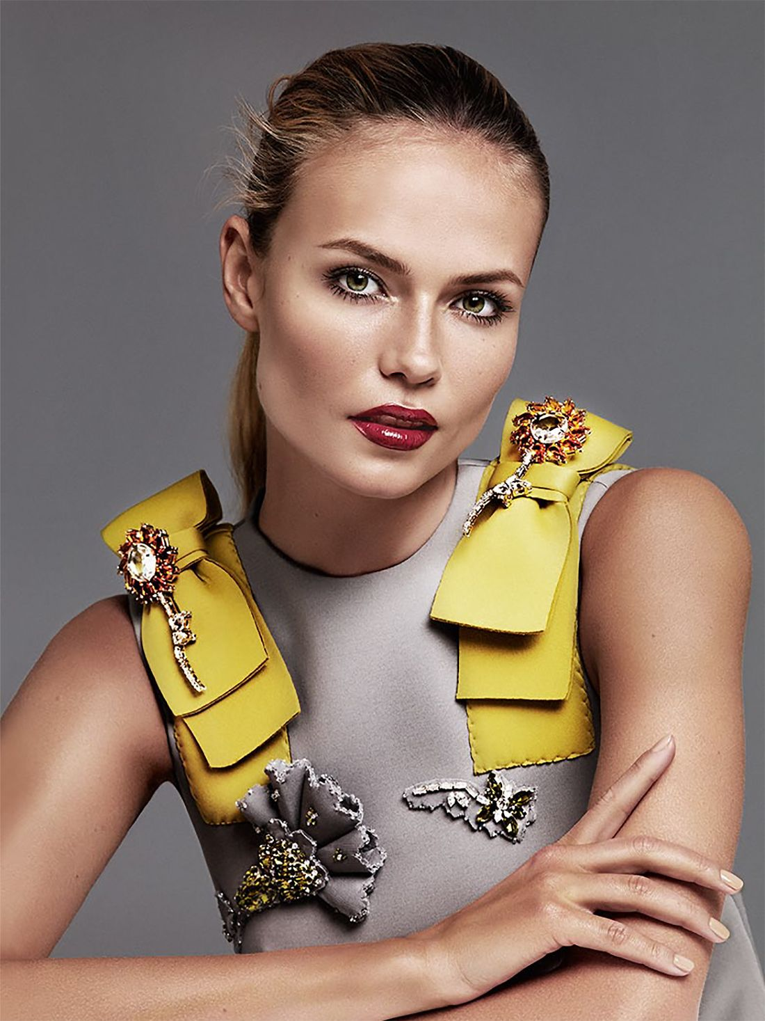 Poly, Russian Poly: Natasha Poly by Alique for Glamour Russia September 2015 - PRADA Fall 2015