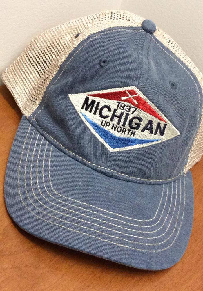 huge discount 3f49b 243e2 Top of the World Michigan Early Up Meshback Adjustable Hat - Navy Blue,  Navy Blue, COTTON POLY BLEND, Size ADJ in 2019   Products   Hats, Top of  the world, ...