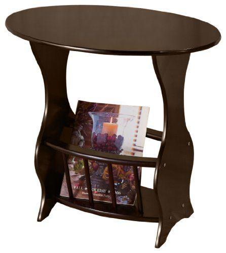 frenchi furniture magazine table cherry frenchi home furnishing httpwwwamazon - Home Furnishing Magazine