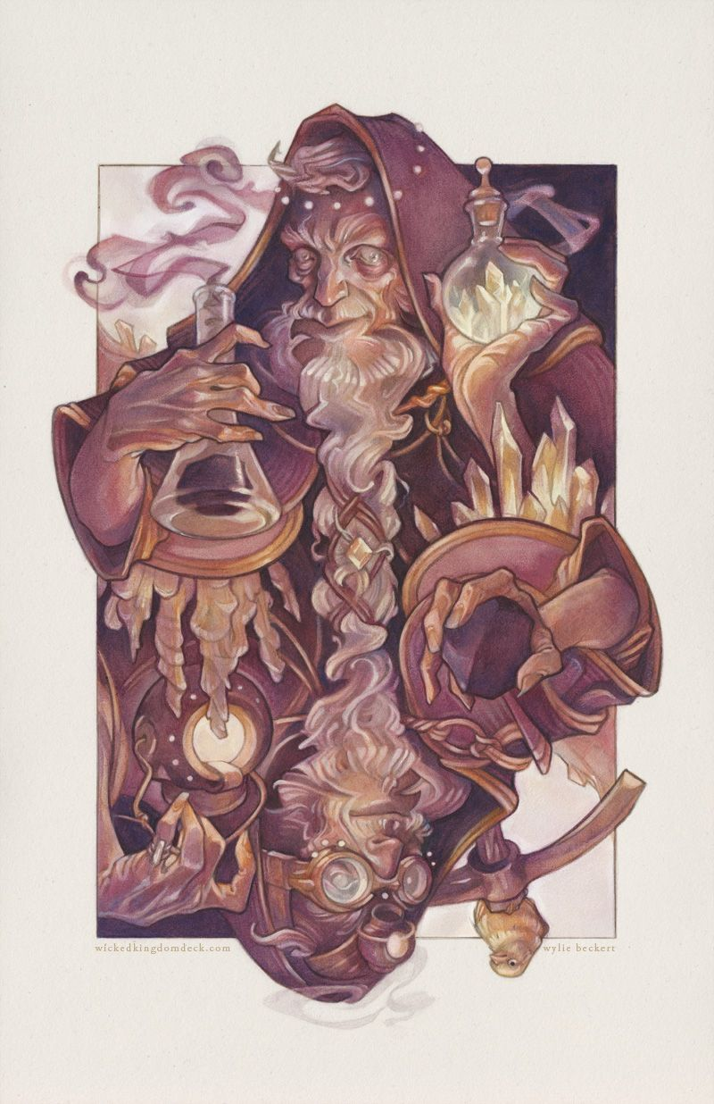 Wicked Kingdom: The King of Diamonds on Behance